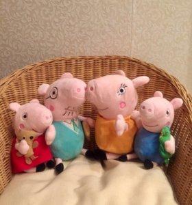 Семейство свинки Пеппы.