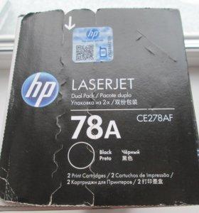 Картридж HP CE278AD/CE278AF (78A) Black