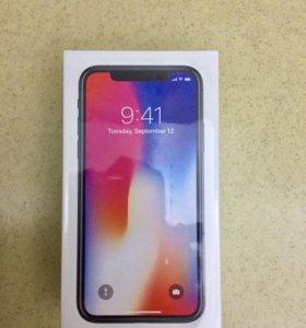 Продам Apple iPhone X 256GB, оригинал.