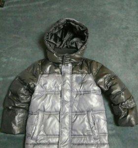 Куртка пуховик, 104-116см