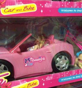 Новая машина с Барби