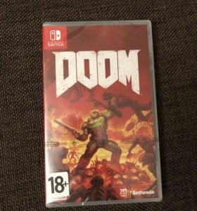 Игра Doom для приставки Nintendo Switch