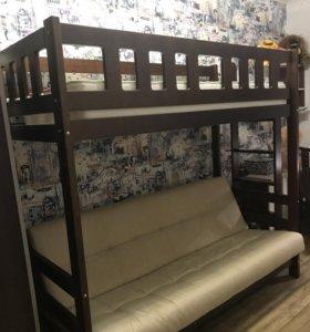 Двухъярусная кровать- диван