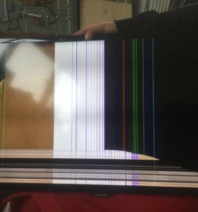 Замена разбитых(залитых) экранов жк телевизоров