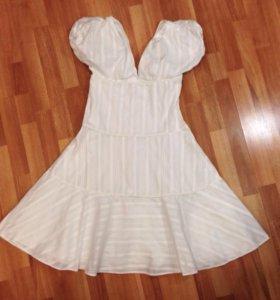 Два белых платья, Kenzo и Savage