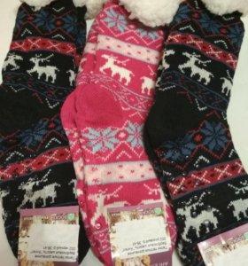 Тапки-носки новые