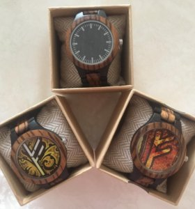 Эко-часы из дерева