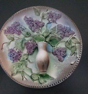 Декоративная тарелка -вазочка.