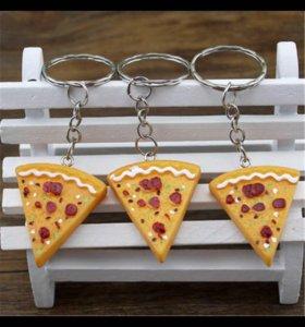 Брелок пицца