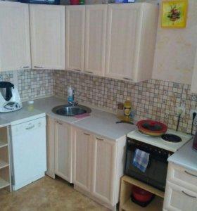Кухонный гарнитур угловой + обеденная группа