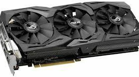Видеокарта asus GeForce GTX 1080, strix-GTX1080-8G