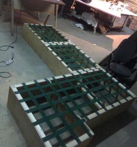 Ремонт мягкой мебели,перетяжка,изготовление