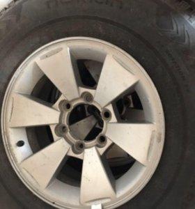 Колёса с дисками на Мицубиси Паджеро спорт