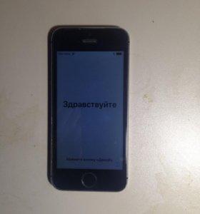 iPhone 5s заблокированый