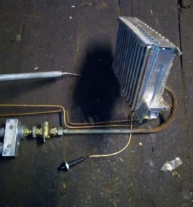 Газовое оборудование с котла