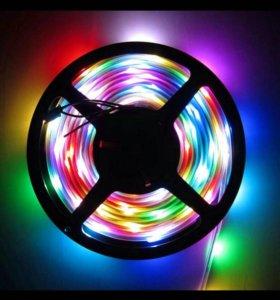 Гирлянда фонарики подсветка