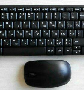 Клавиатура + мышка беспроводные