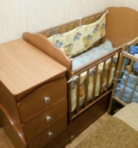 Кроватка-трансформер СРОЧНО