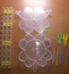 Плетение из резиночек Резиночки Рукоделие Набор
