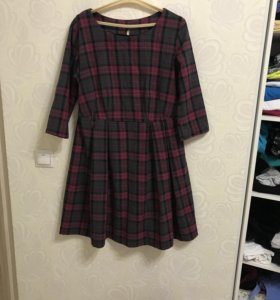 Платье тонкая шерсть