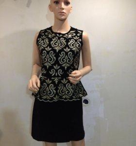 Платье новое бархат Италия