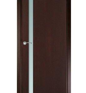 Дверь из натурального шпона
