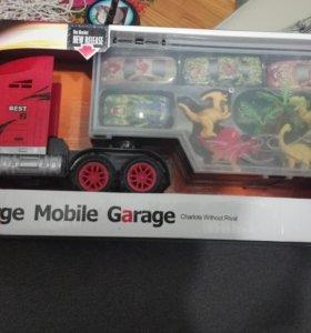 Машина гараж с машинками