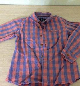Рубашка, 110см, 4-5 лет