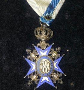 Орден Святого Саввы 5ая.степень.