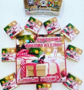 Шокобоксы-сладкие подарки