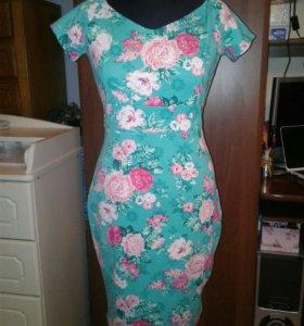 Платье трикотаж 44-46