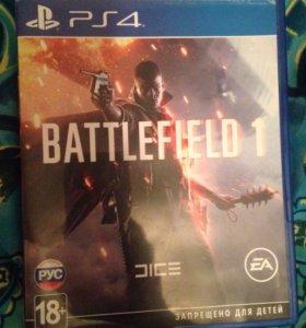 Игра на PS4 Battlefield 1