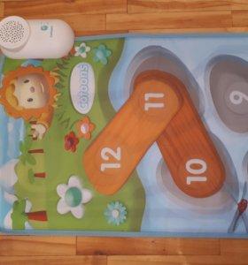 Развивающий музыкальный детский коврик