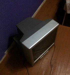 Телевизор + холодильник