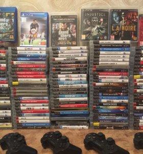 Игры, геймпады Sony PS3 в отл. состоянии!