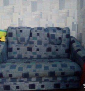 Диван и кресло раскладные