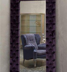 Зеркала с каретной стяжкой на заказ