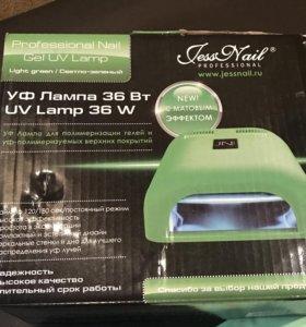 УФ Лампа 36Вт для гель-лака+11 гель лаков.