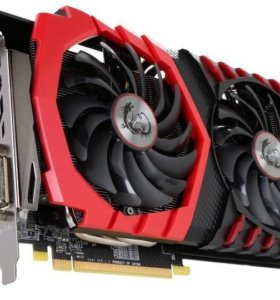 Видеокарта MSI Gaming X RX580 8GB