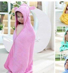 Милые детские полотенце все цвета в наличии)))