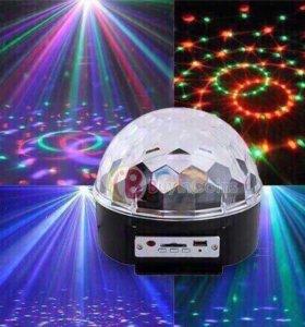 Новогодний диско шар