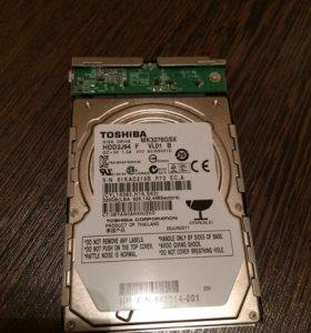 Продам hdd 320gb Toshiba