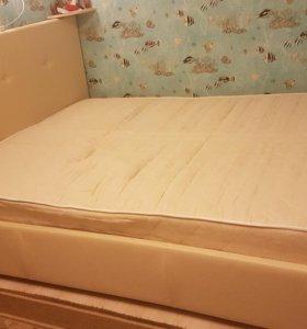 Кровать с ортопедическим матр. Askona