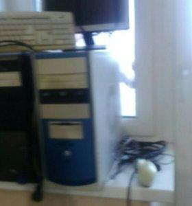 Монитор, клавиатура, мышь, системные блоки -2