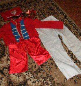 костюм гусара на 5-7 лет