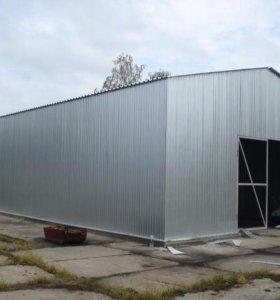 Изготовление и монтаж ангаров, складов и гаражей