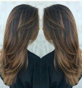 Наращивание волос(капсульное,ленточное)