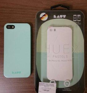 Чехол LAUT для iPhone SE/5s/5 мятный цвет