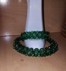 Комплект (колье и браслет)