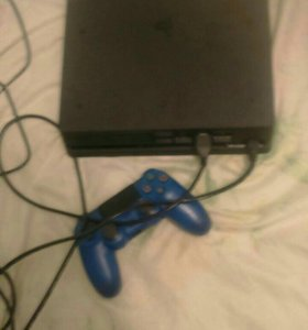 PlayStation 4 Black Slim 1 t.b